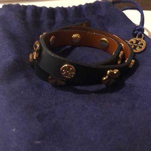 Tory Burch new wrap leather bracelet